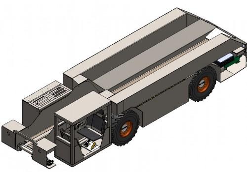 Battery Shuttle Car Model 15TEN30